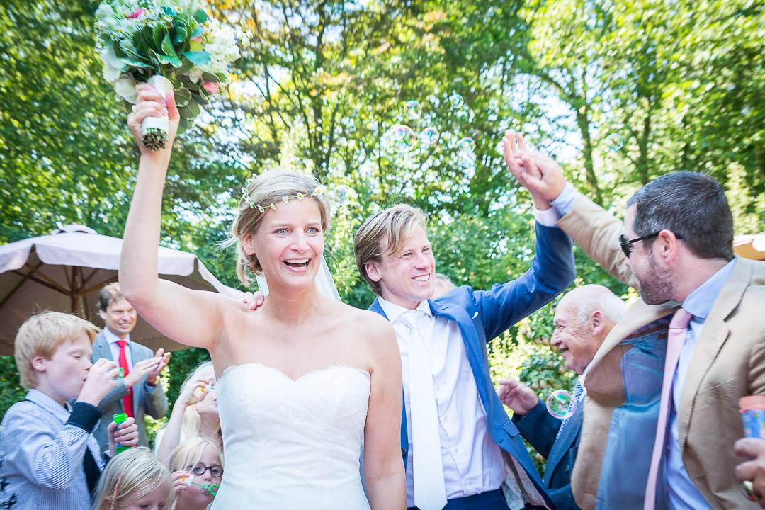 Bruidsfotograaf Rotterdam - Trouwreportage - Bruidsfotografie - Zuid-Holland - Nederland - zwart-wit bruidsfotografie - Marnix de Stigter;