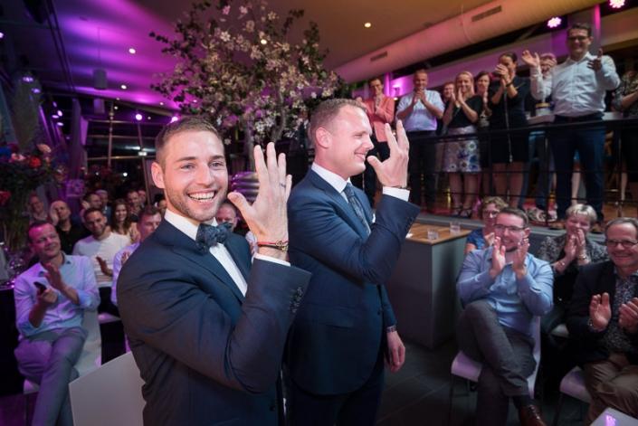 Bruidsfotograaf Rotterdam - Trouwfotografie trouwlocatie De Boompjes