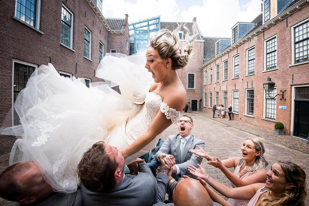 Top Trouwfotograaf uit Rotterdam Zuid Holland - Bruiloft Kasteel Woerden