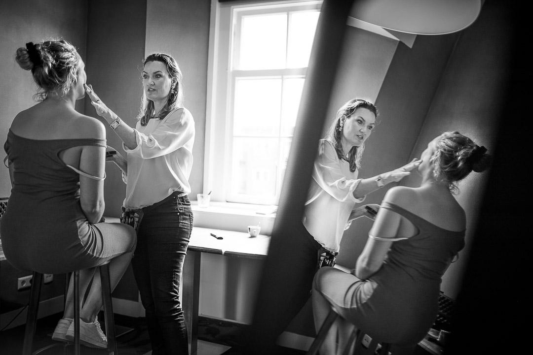 Beste Bruidsfotograaf uit Rotterdam Zuid-Holland - Bruiloft in Kasteel Woerden