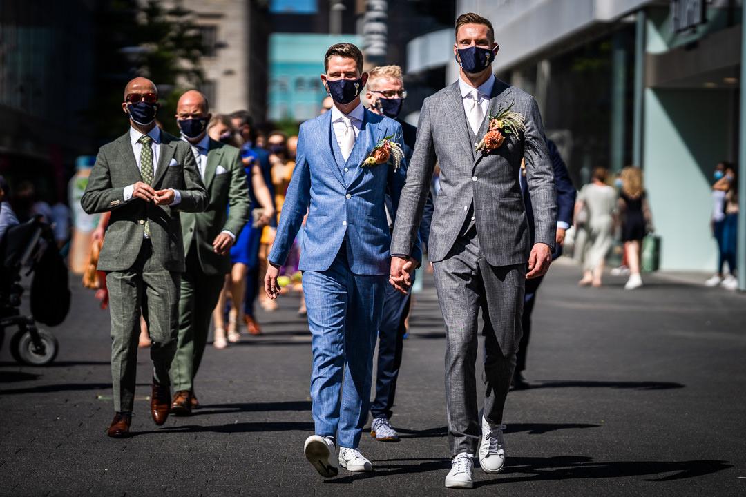 Bruidsfotograaf - Bruiloft in het Stadhuis van Rotterdam