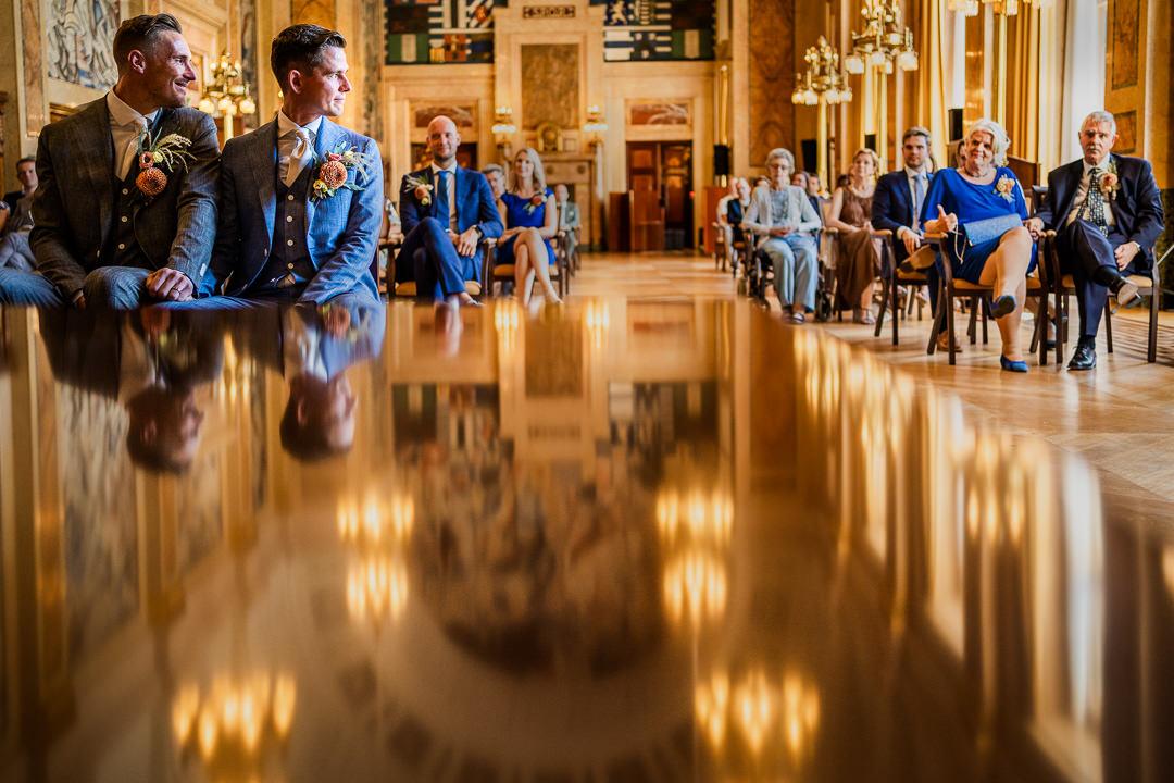Beste Bruidsfotograaf van Nederland - Trouwen Stadhuis Rotterdam