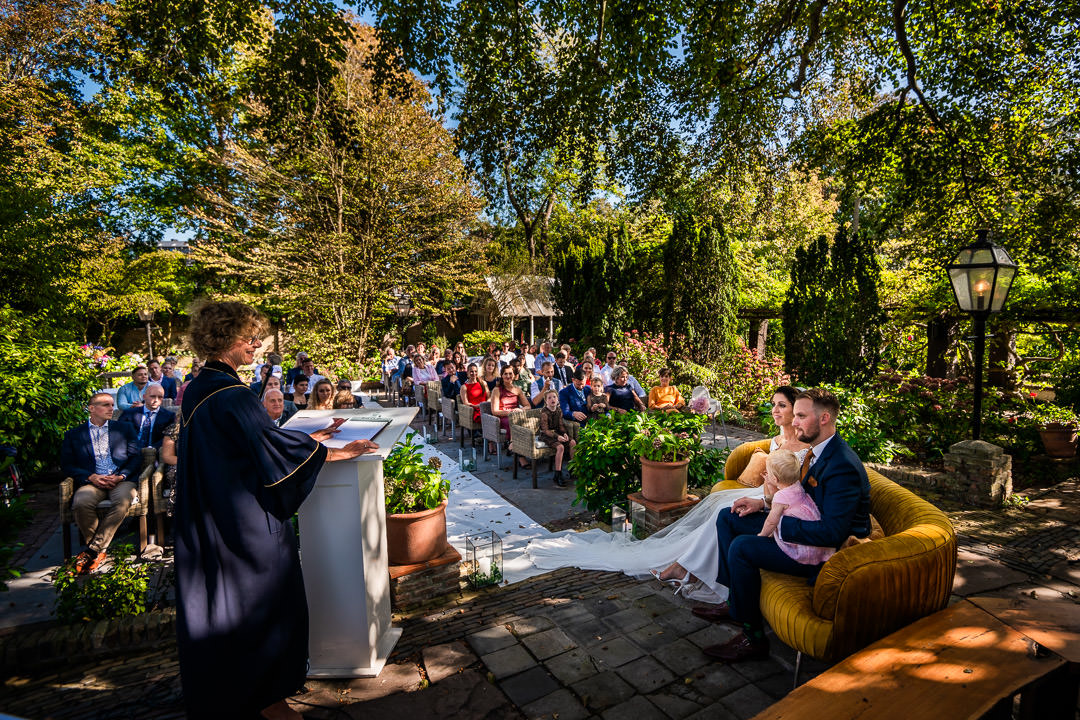 Trouwceremonie Villa Beukenhof