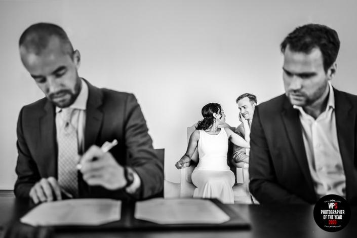 Prijswinnend trouwfotograaf