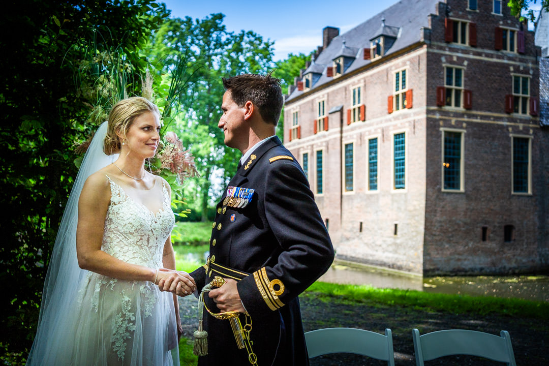 Bruidsfotograaf Bruiloft Kasteel Wijenburg Echteld